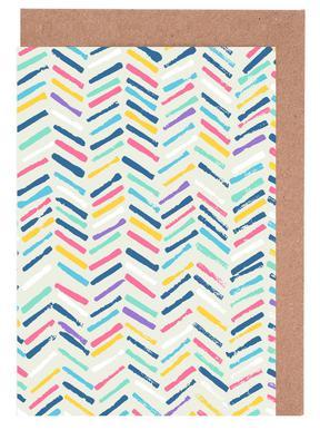 Herringbone Greeting Card Set