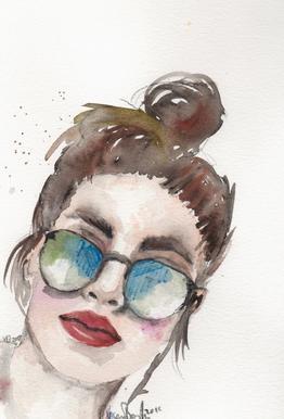 Cool Girl As Poster By Verena Bonath 21st Aesthetics Juniqe Uk