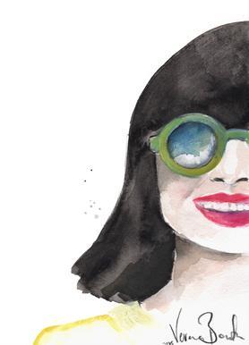 Crazy Woman As Poster By Verena Bonath 21st Aesthetics Juniqe