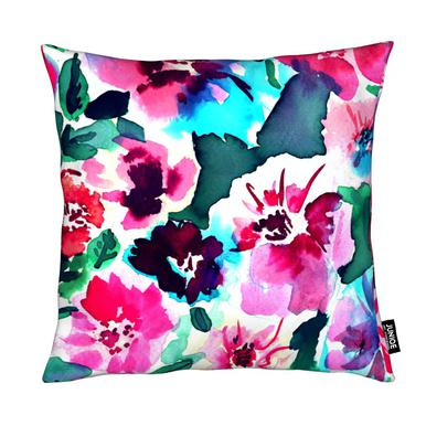 Zoe Floral Pink Cushion