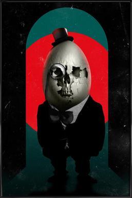Humpty Dumpty Framed Poster