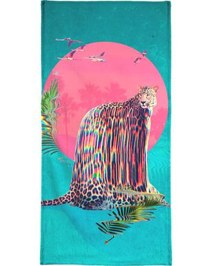 Jaguar Hand & Bath Towel