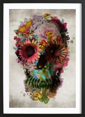Gerahmte Totenkopf Bilder Online Bestellen Juniqe