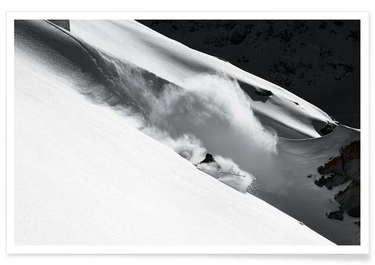 Cloud of Snow - Jakob Sanne Poster