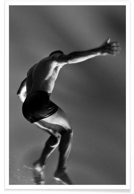 Cuban Athlete 12 -  Francisco Ross Poster