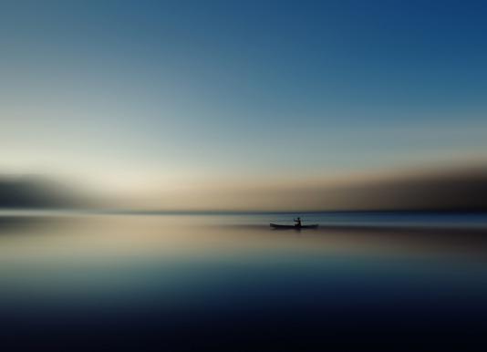Alone in Somewhere - Cie Shin Canvas Print