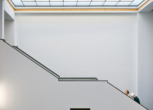 Stair-Up - Henk Van Maastricht Canvas Print
