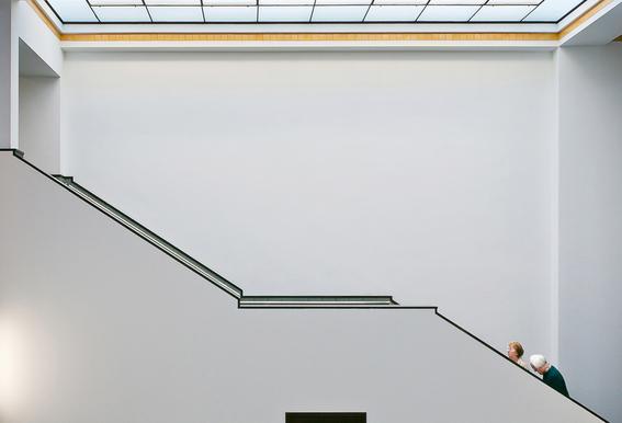 Stair-Up - Henk Van Maastricht Aluminium Print