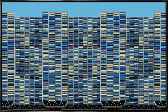 Big, Bigger, Biggest - Henk Van Maastricht Poster in Standard Frame