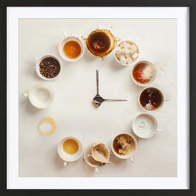 It's Always Coffee Time - Dina Belenko Framed Print