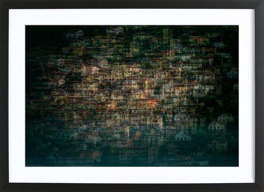 Multi House - Roberto Marini Framed Print