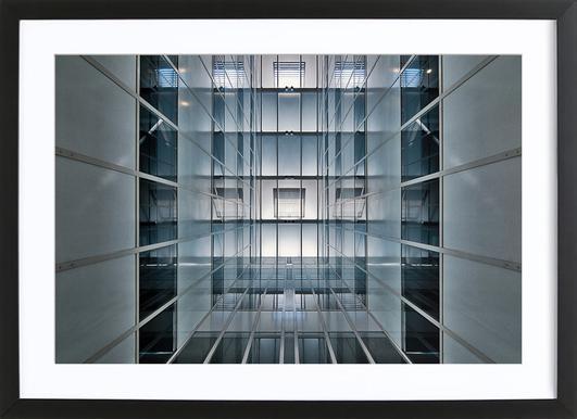 Hall Lighting - Henk Van Maastricht Framed Print