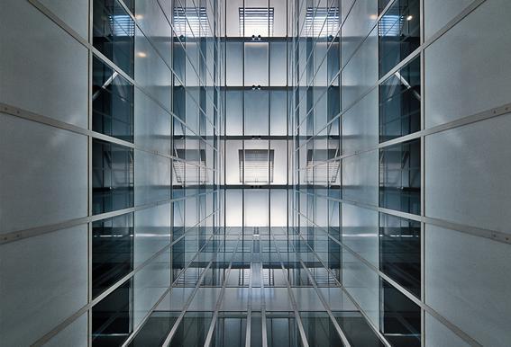 Hall Lighting - Henk Van Maastricht Aluminium Print