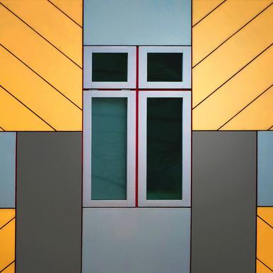 Cube House - Henk Van Maastricht Canvas Print