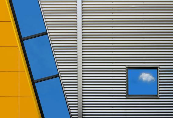 Cloudlet - Henk Van Maastricht Aluminium Print