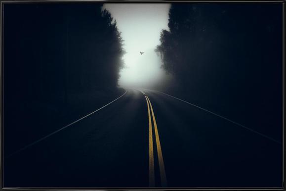 High Way - Mika Suutari ingelijste poster