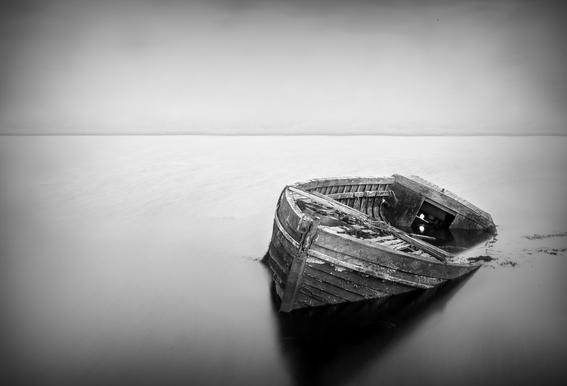 Abandoned - Wild Photo Art alu dibond