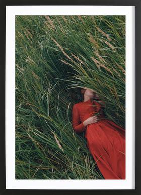 004 - Olga Barantseva ingelijste print