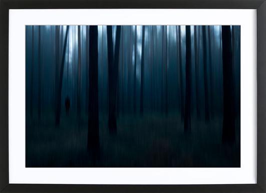 Man In The Forest - Christian Lindsten ingelijste print