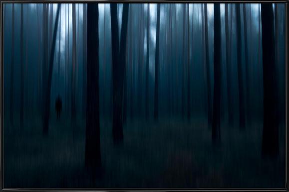 Man In The Forest - Christian Lindsten ingelijste poster