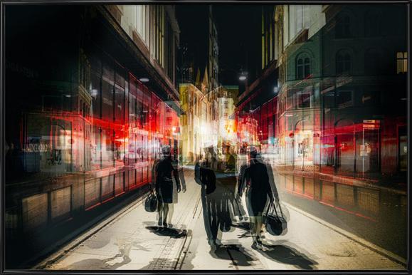Free Exit - Carmine Chiriaco ingelijste poster