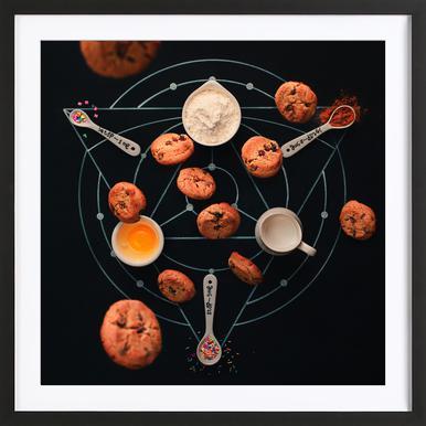 Baking Alchemy - Dina Belenko ingelijste print