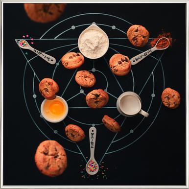 Baking Alchemy - Dina Belenko poster in aluminium lijst