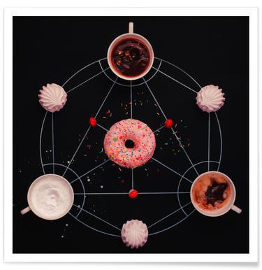 Sweet Alchemy Of Cooking - Dina Belenko poster