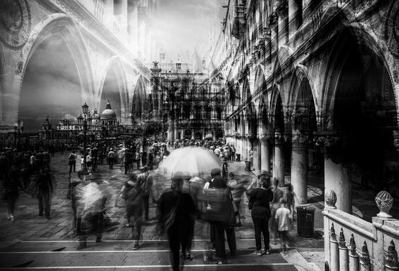 The Tourists - Carmine Chiriaco' alu dibond