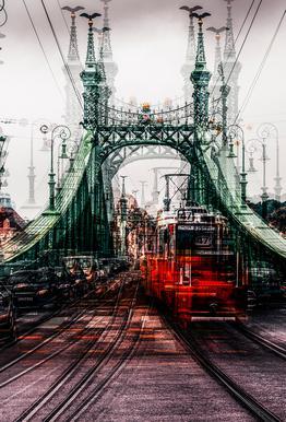 On The Tram - Carmine Chiriaco' acrylglas print