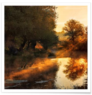 When Nature Paints With Light I - Leicher Oliver Poster