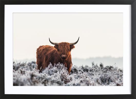 Highlander - Jaap Van Den Poster in houten lijst