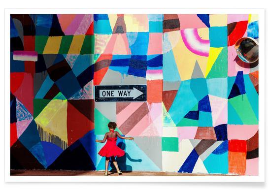 One Way - Gloria Salgado Gispert poster
