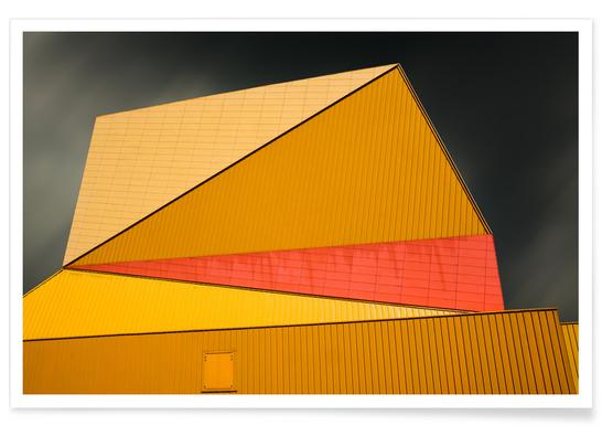 The Yellow Roof -Poster