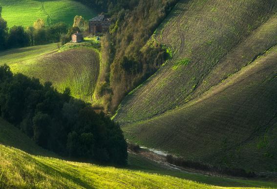 Crete Senses/Tuscany Alu-Dibond Druck