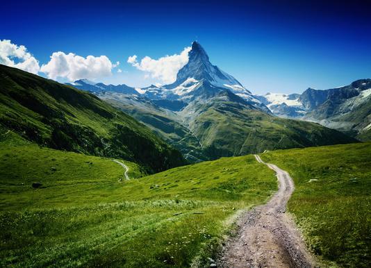 Matterhorn II Leinwandbild