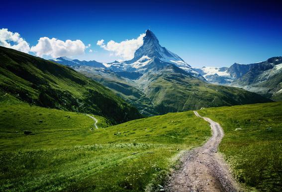 Matterhorn II Alu-Dibond Druck