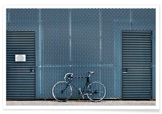 No Bikes Please Poster