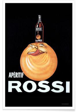 Aperitif Rossi Poster