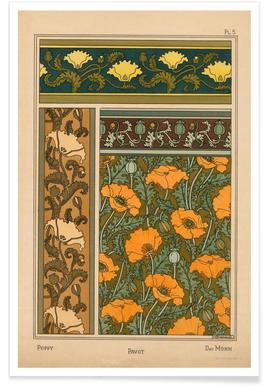 Eugene Grasset - Poppy 05 affiche