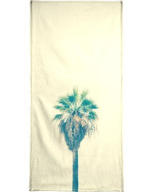 Yellow Sabal Palmetto handdoek