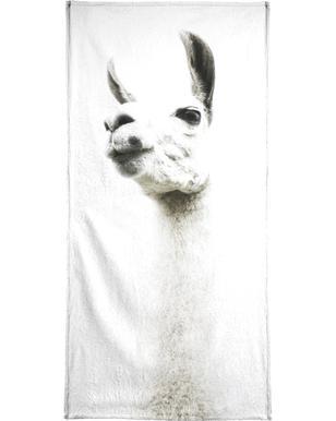 Llama I Beach Towel
