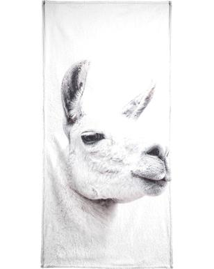 Llama II Beach Towel