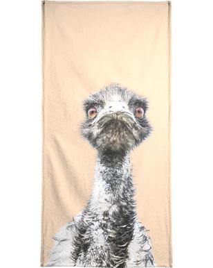 Orange Emu serviette de plage