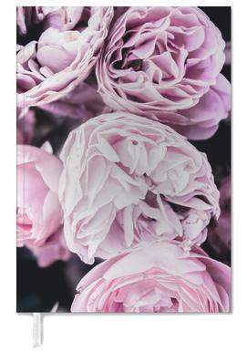 Pink flowers II agenda