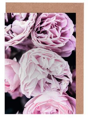 Pink flowers II cartes de vœux