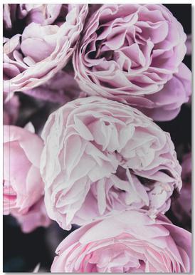Pink flowers II Carnet de note