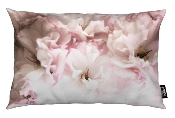 Pink Flowers Coussin