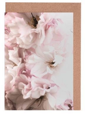 Pink Flowers cartes de vœux