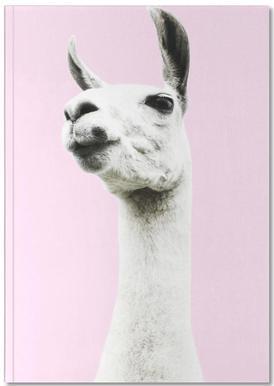Pink Llama Carnet de note